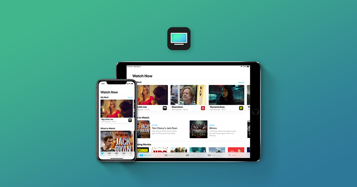 Free application Apple TV for iOS will be available in early 2019