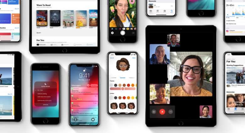 Apple released a third public beta of iOS 12.1