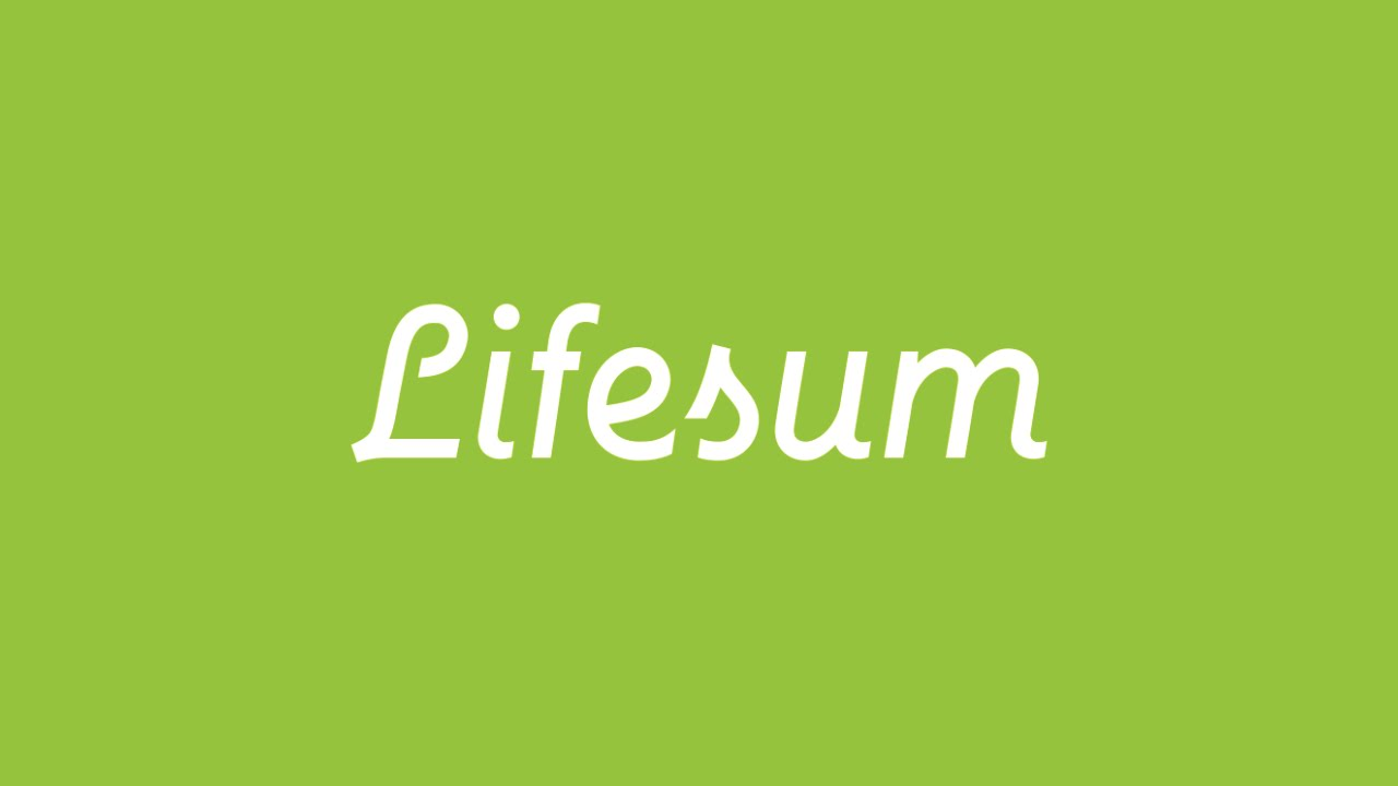 Lifesum: diary of a diet and a healthy lifestyle in iPhone