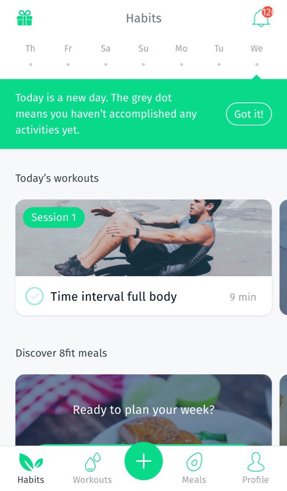 8Fit: fitness from home