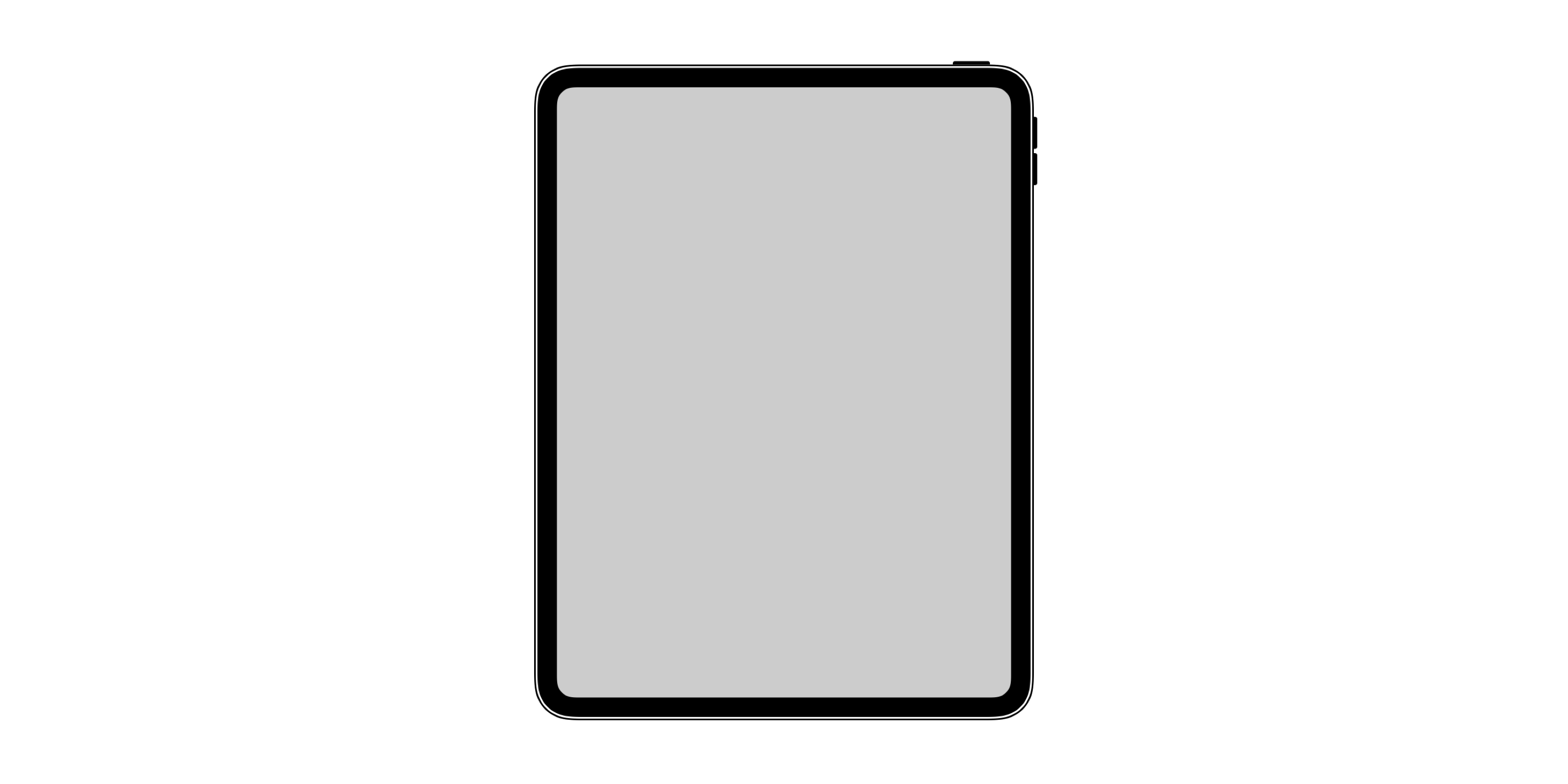 In iOS 12 found a picture of a new iPad Pro