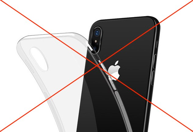 The most convenient way to protect the iPhone X/XS/XS Max
