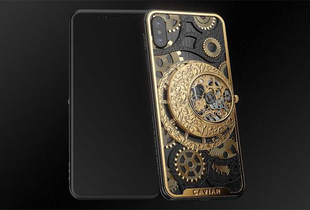 The Russian company Caviar presented a version of the iPhone XS for 300 thousand rubles