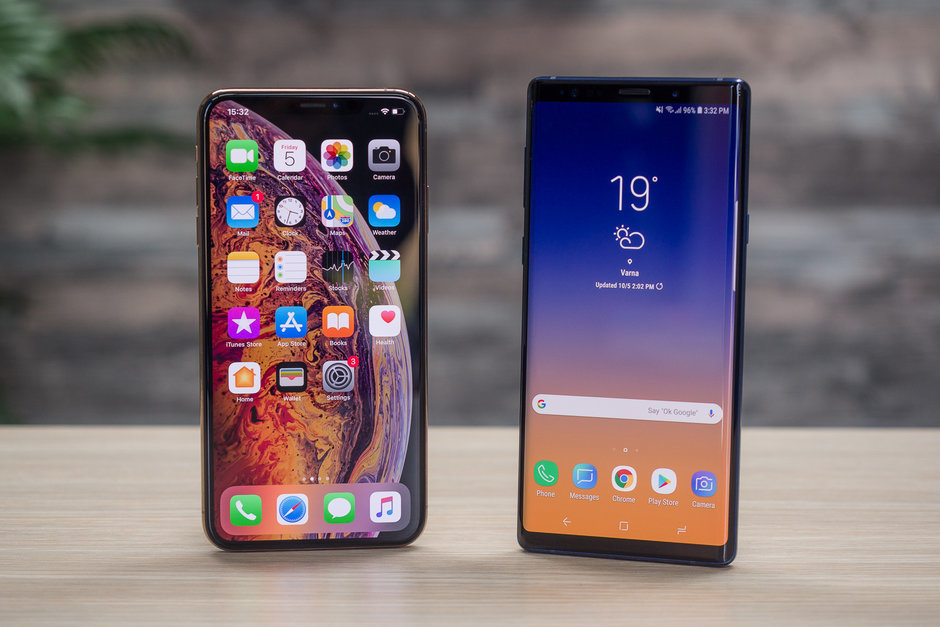 Galaxy Note vs iPhone Max: who is the greatest?