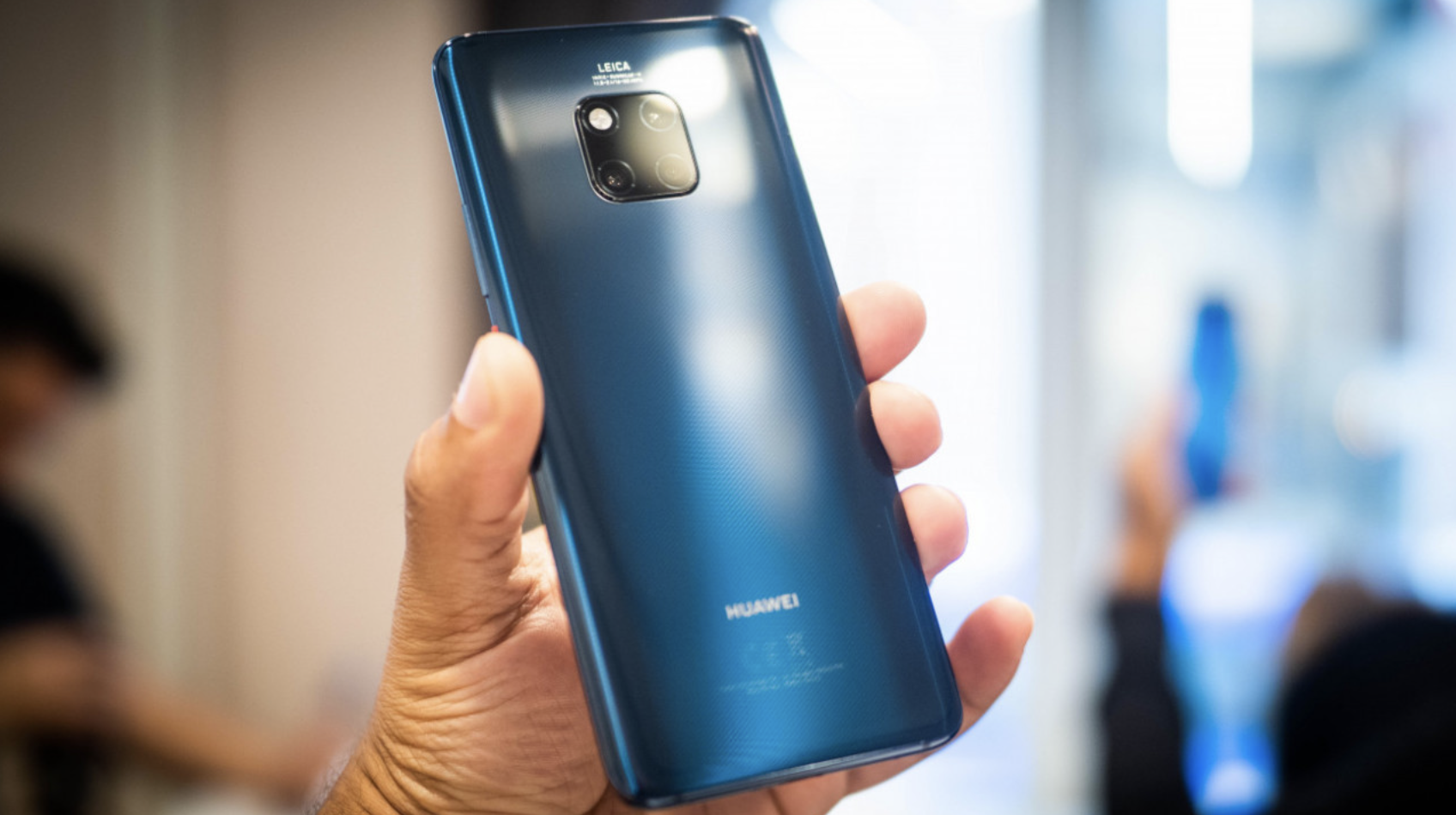 Huawei has unveiled the flagship smartphone Mate 20 Pro