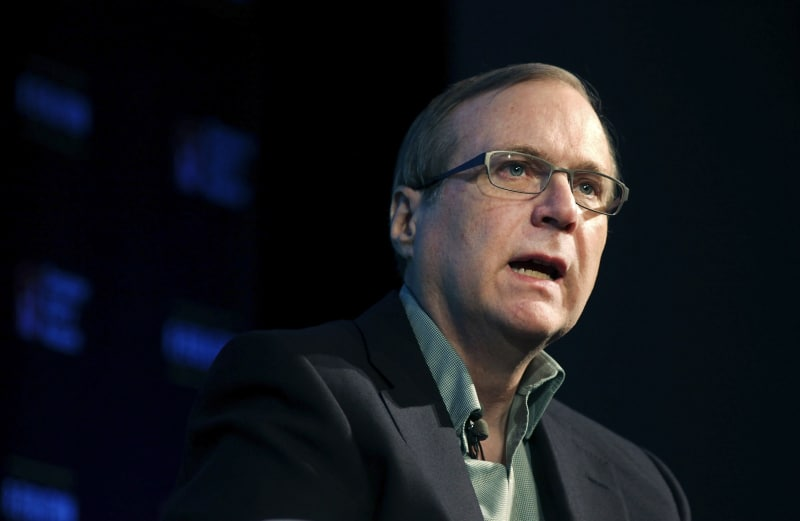 Died one of the founders of Microsoft Paul Allen