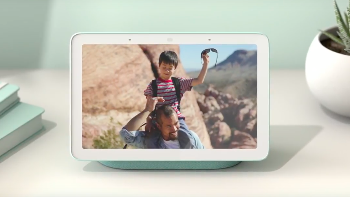 Google has unveiled a Home Hub — the new center of the smart home