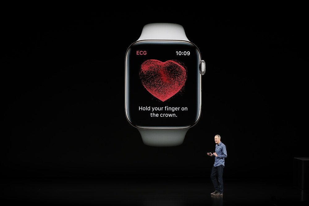 Apple donated 1000 of smart watches to the study of eating disorders