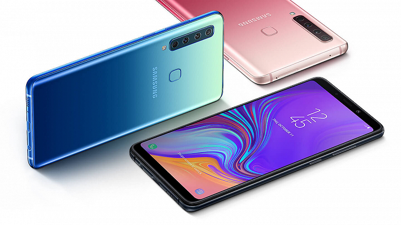 In the network appeared the first images of the future Samsung Galaxy A9 with four cameras