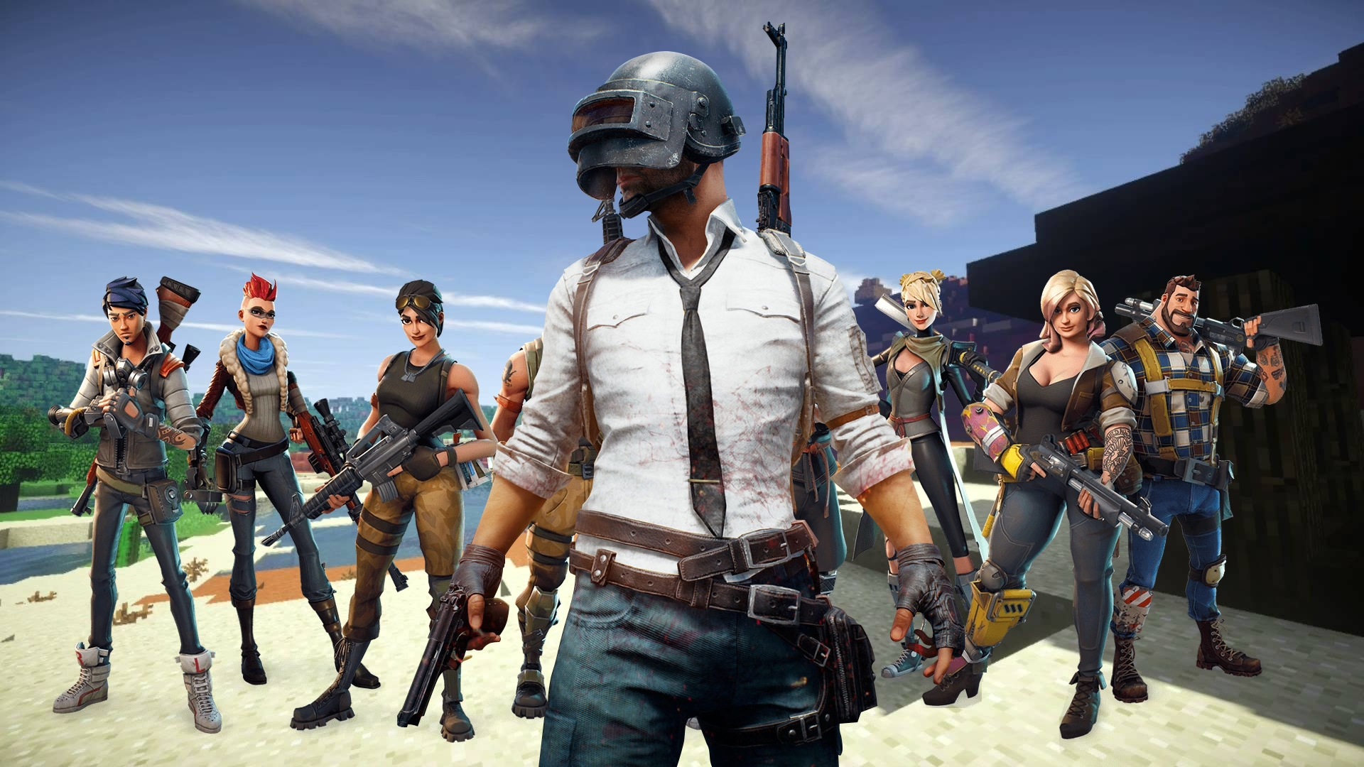 Top 5 games-the Battle Royale for iOS