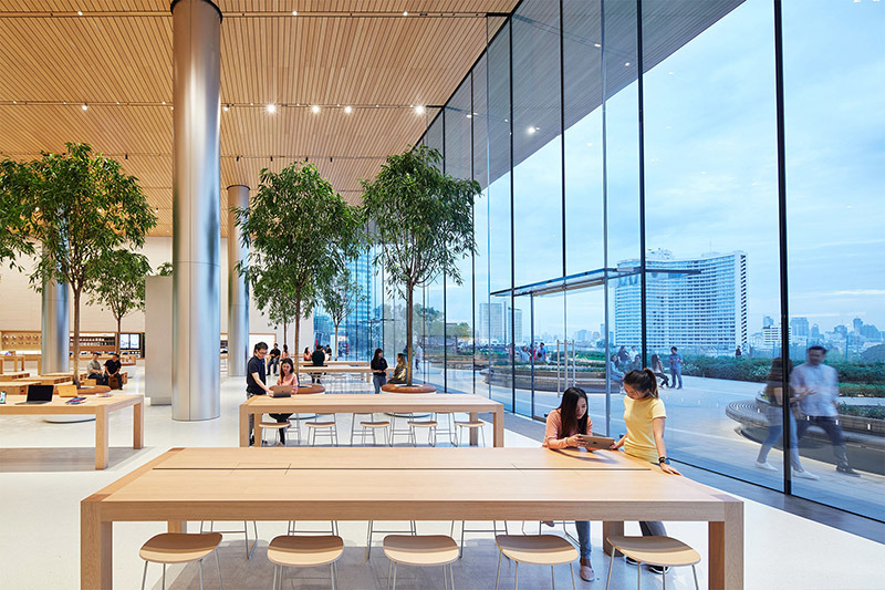 In Thailand, will open the first Apple store