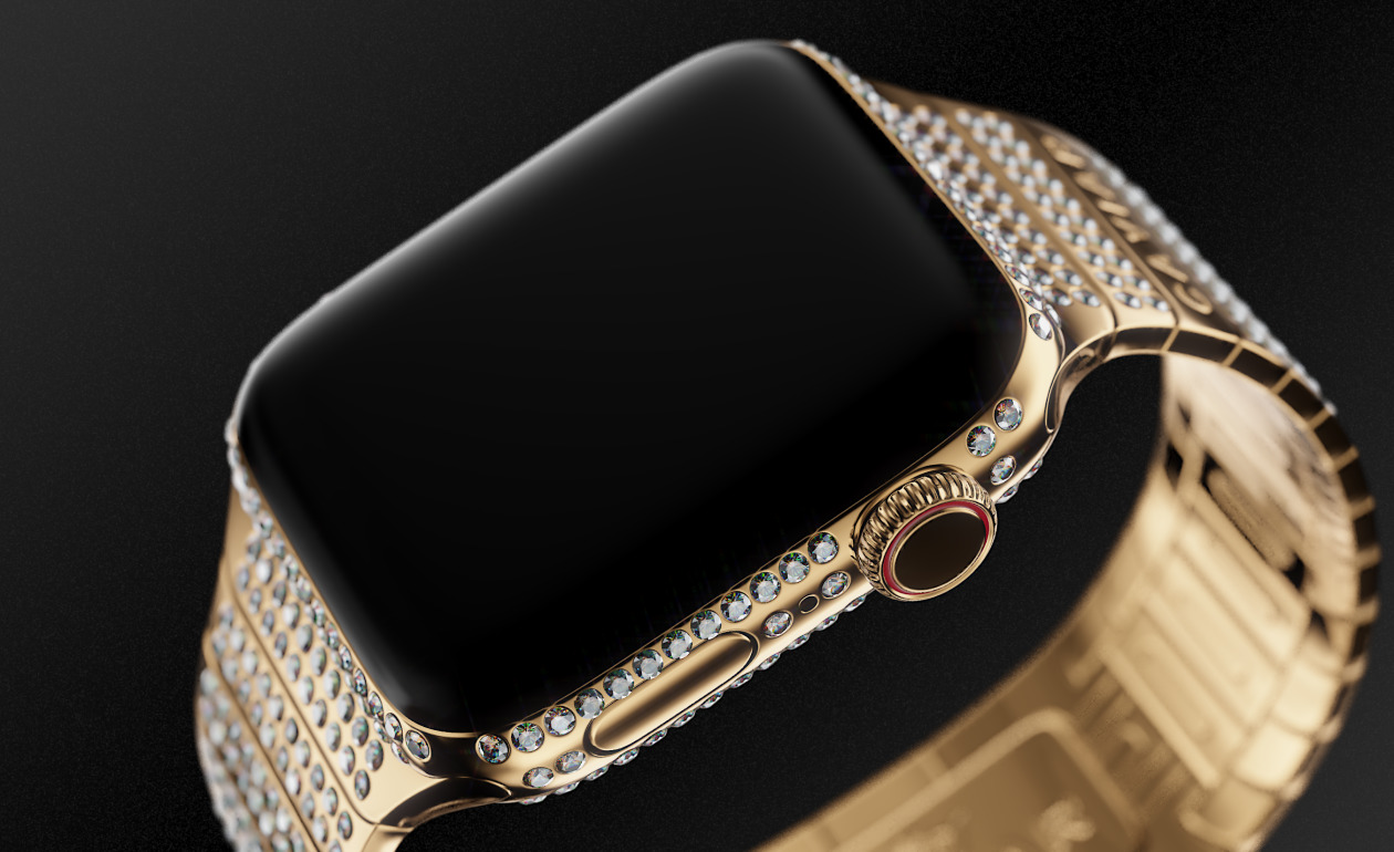 "Caviar introduced Apple Watch with the ""eggs"" at the price of the apartment"