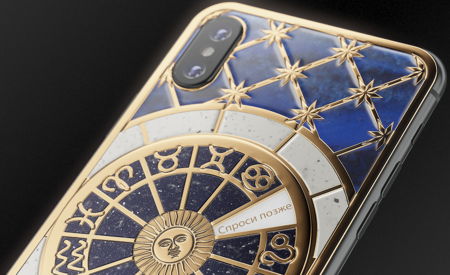 Caviar has released the iPhone XS, antique mechanical games