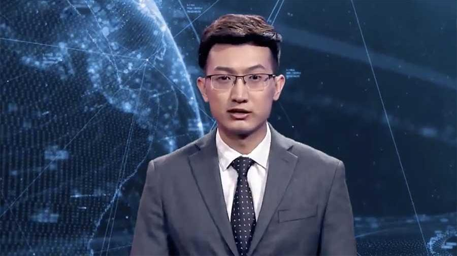 Chinese journalist became the prototype of the world's first virtual speaker