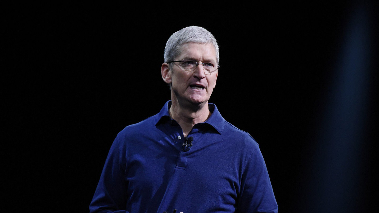Tim cook became less likely to use an iPhone