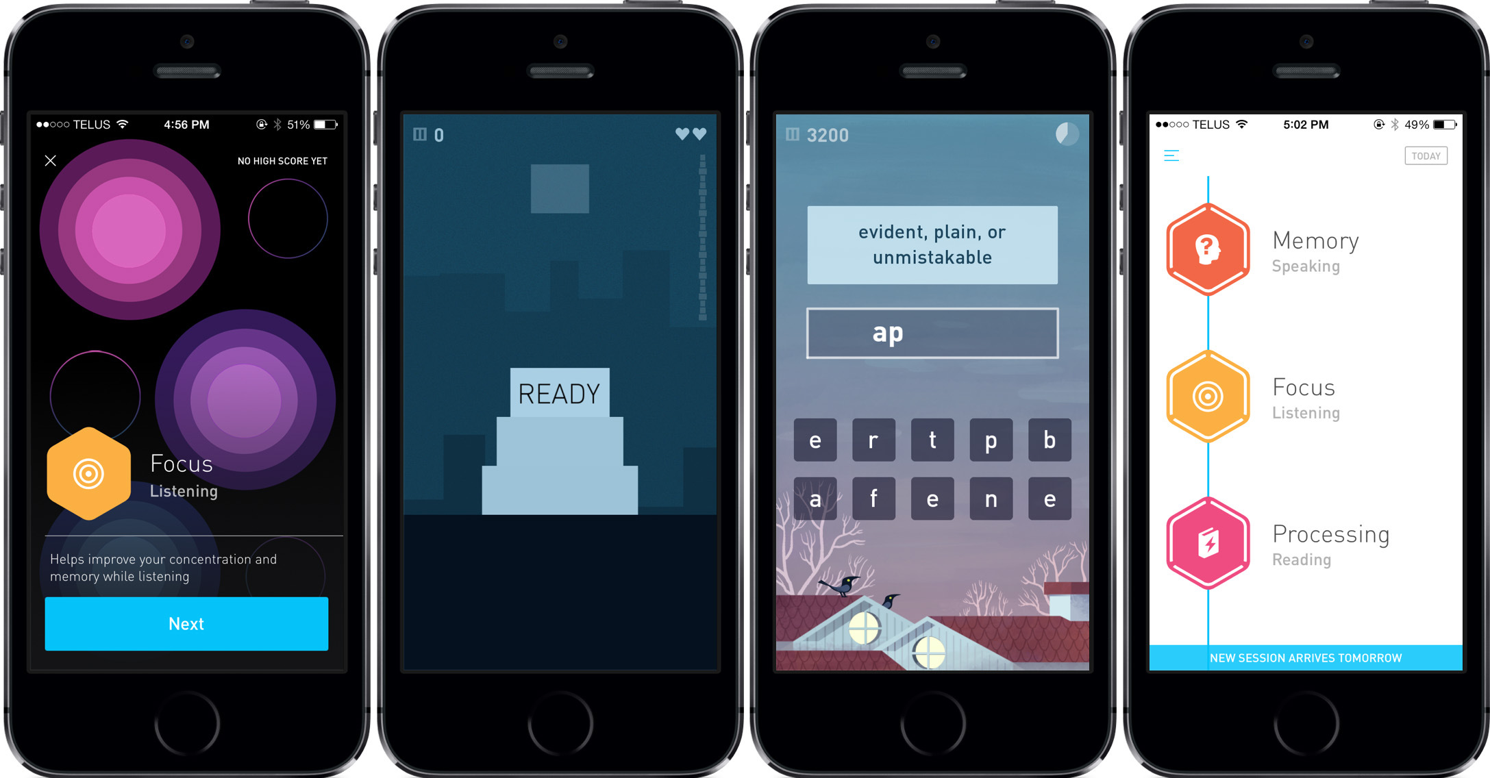 Elevate: English, puzzle, memory training and much more in one app