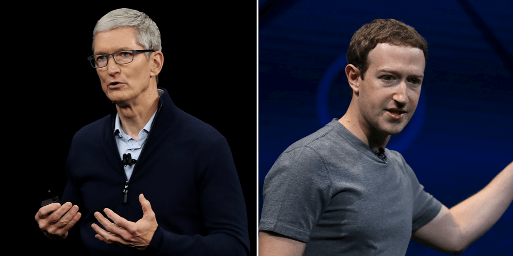 Facebook: Zuckerberg no one was forbidden to use the iPhone, it just hurt to cook