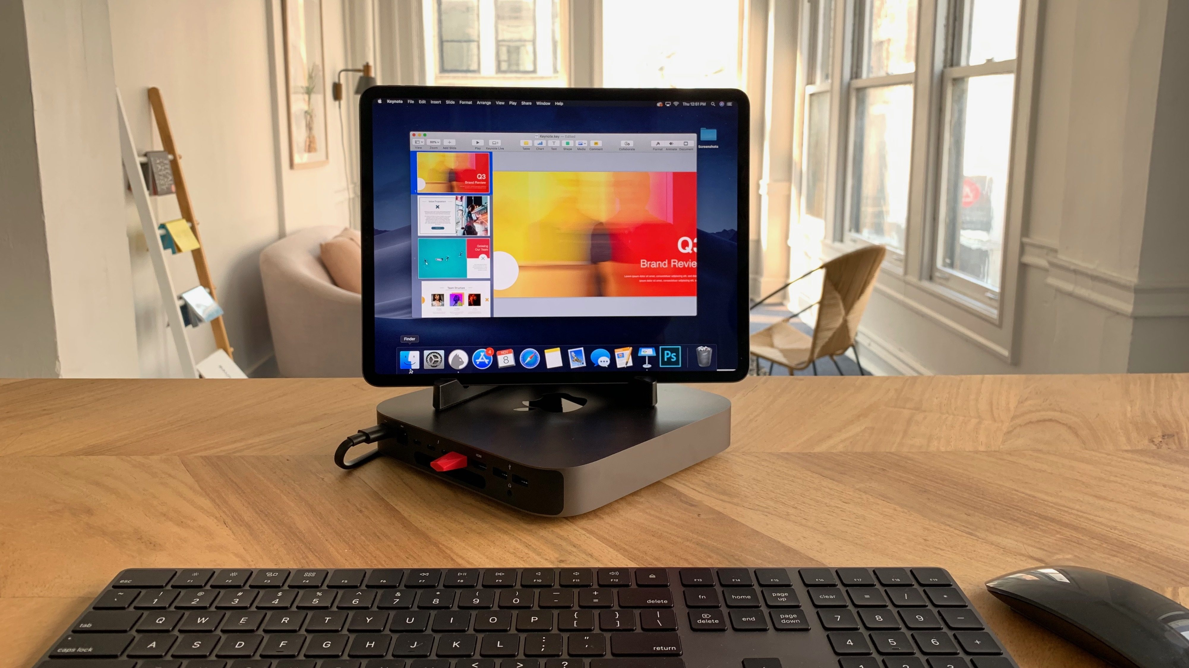 How to use the iPad Pro as a primary monitor with Mac mini
