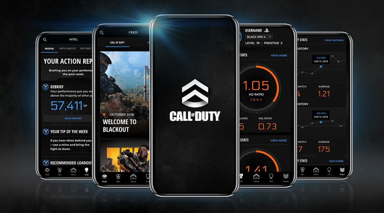 Activision has released an iOS companion app for Call of Duty