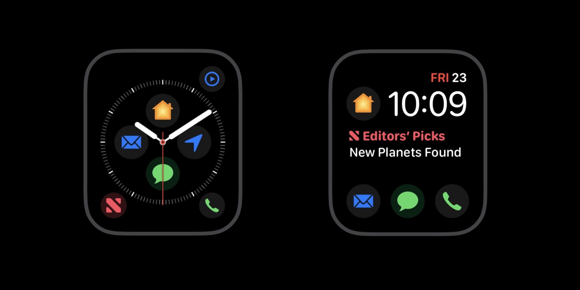 Apple accidentally reveals new extensions for the dial of the Apple Watch Series 4
