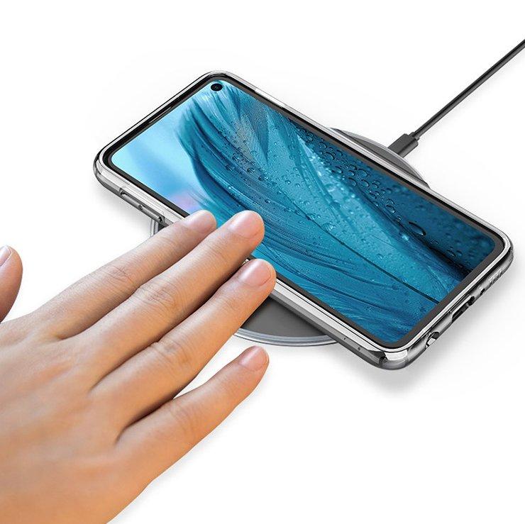 A Twitter user showed the render frameless Samsung Galaxy S10