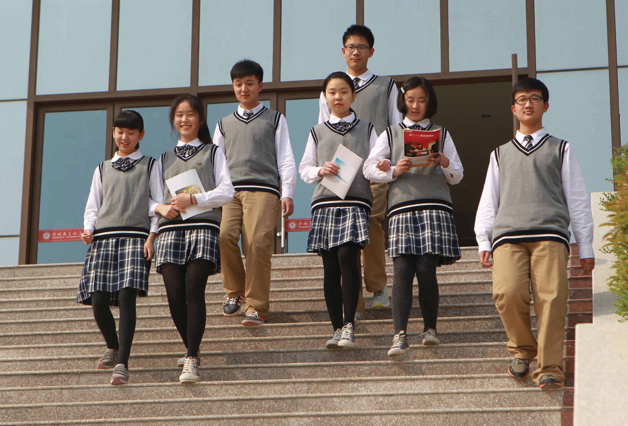 For Chinese students, followed by using smart forms