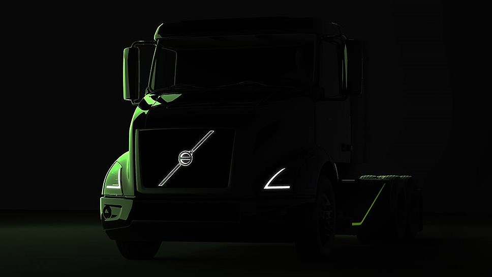Volvo to compete with Tesla. The company showed an electric truck