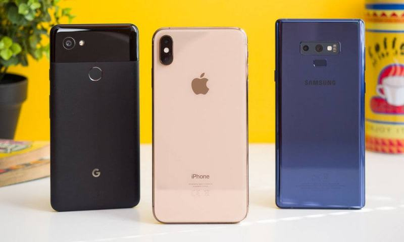 Five best smartphones in 2018, according to the magazine Fortune