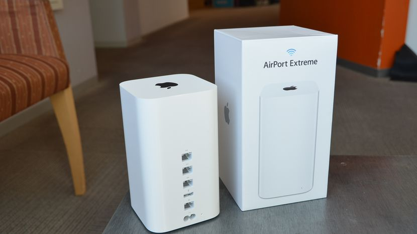 Apple shouldn't have left the market Wi-Fi equipment