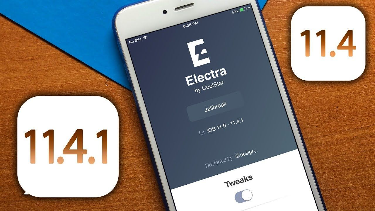 Was released a new build of the jailbreak for iOS Electra 11