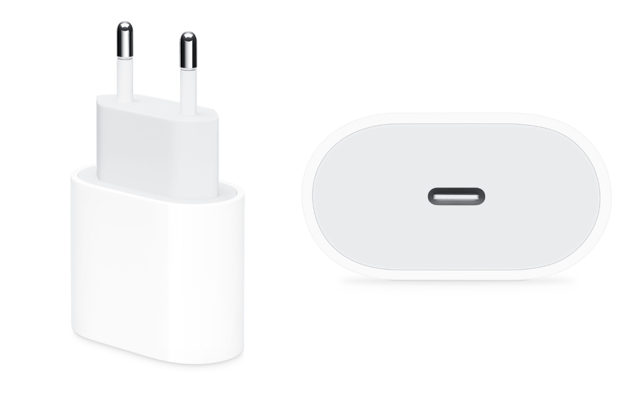 Apple started to sell the power adapter 18W