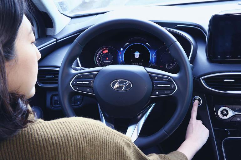Hyundai has developed a fingerprint scanner to unlock and start the car engine