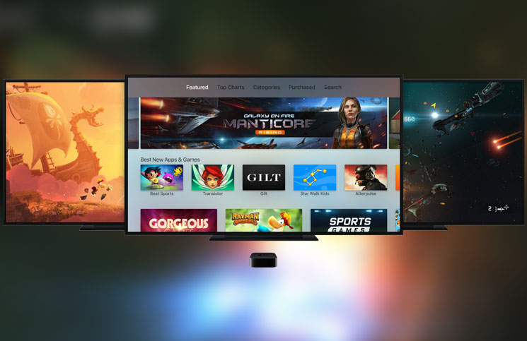 Top 5 games for Apple TV