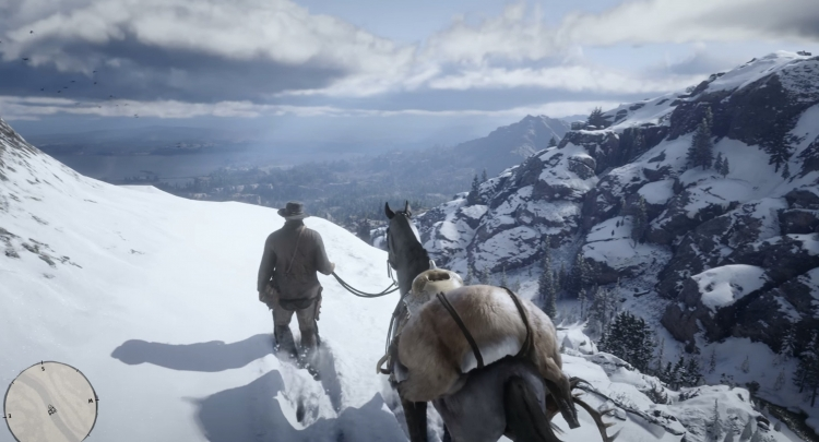 Fantastic new location in Red Dead Redemption 2: video