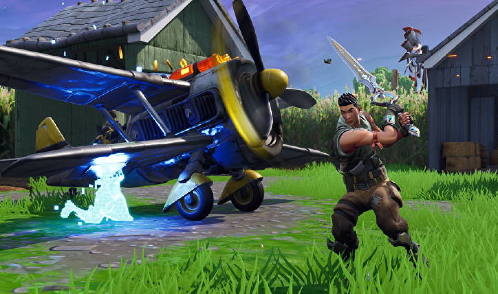 Epic Games removed the sword from Infinity Blade Fortnite because of his power