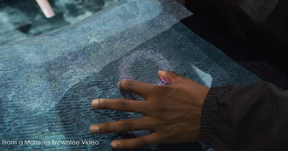 Apple is working on smart fabrics for clothing and coverings cars