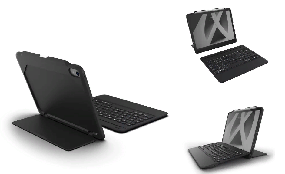 Presented Zagg keyboard cases for iPad Pro