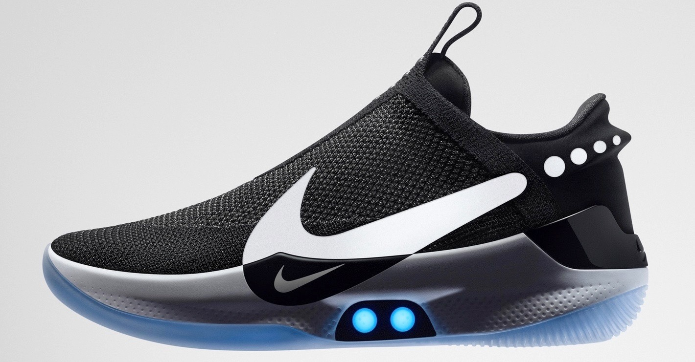 Video: New basketball sneakers Adapt Nike BB can be controlled using your iPhone