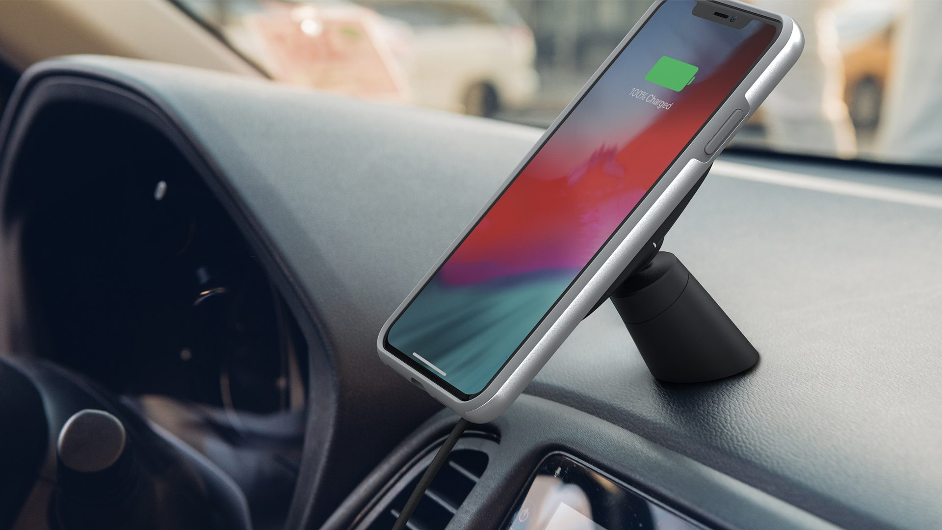 Moshi has introduced car mount for iPhone and USB-C headphone with DAC