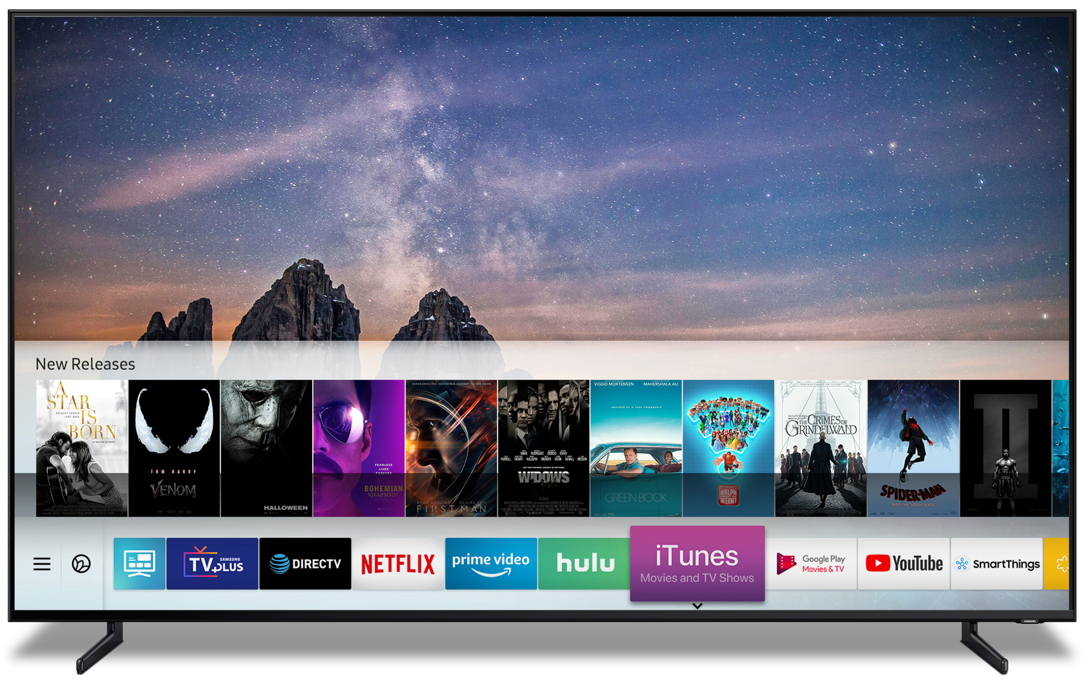 Apple installs iTunes and AirPlay on 2 Samsung TVs