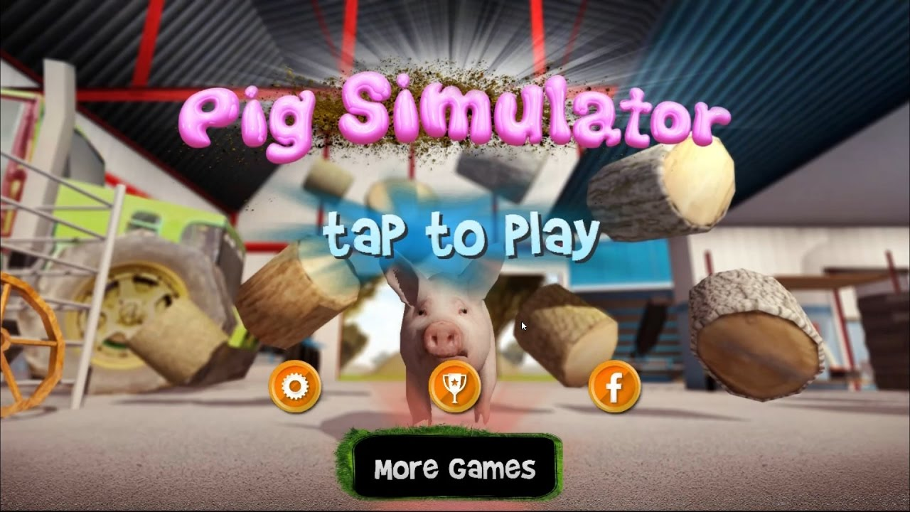 Pig Simulator: destructive game with the symbol of 2019