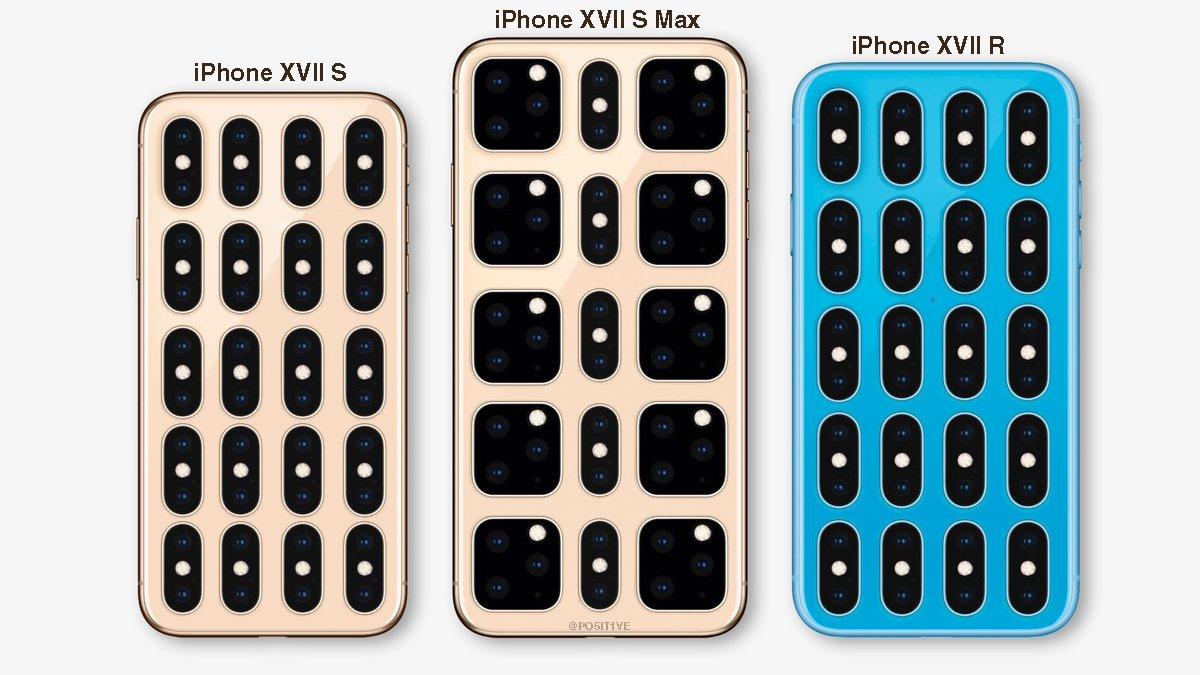 Benjamin Gaskin has published renderings of the new iPhone 2019