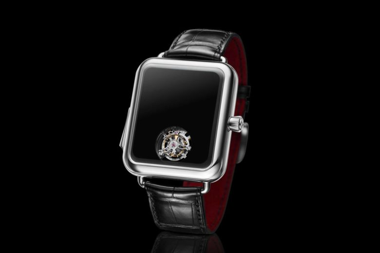 The Swiss watchmaker has released a copy of Apple Watch for 350 thousand dollars