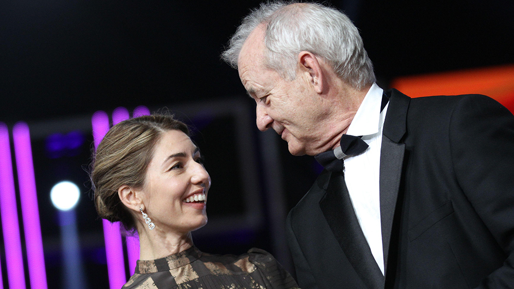 The first feature film the Apple with bill Murray in the title role photo: Sofia Coppola